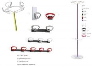Une réflexion graphique autour du concept d'équilibre a guidé la création de la nouvelle gamme KOBE.