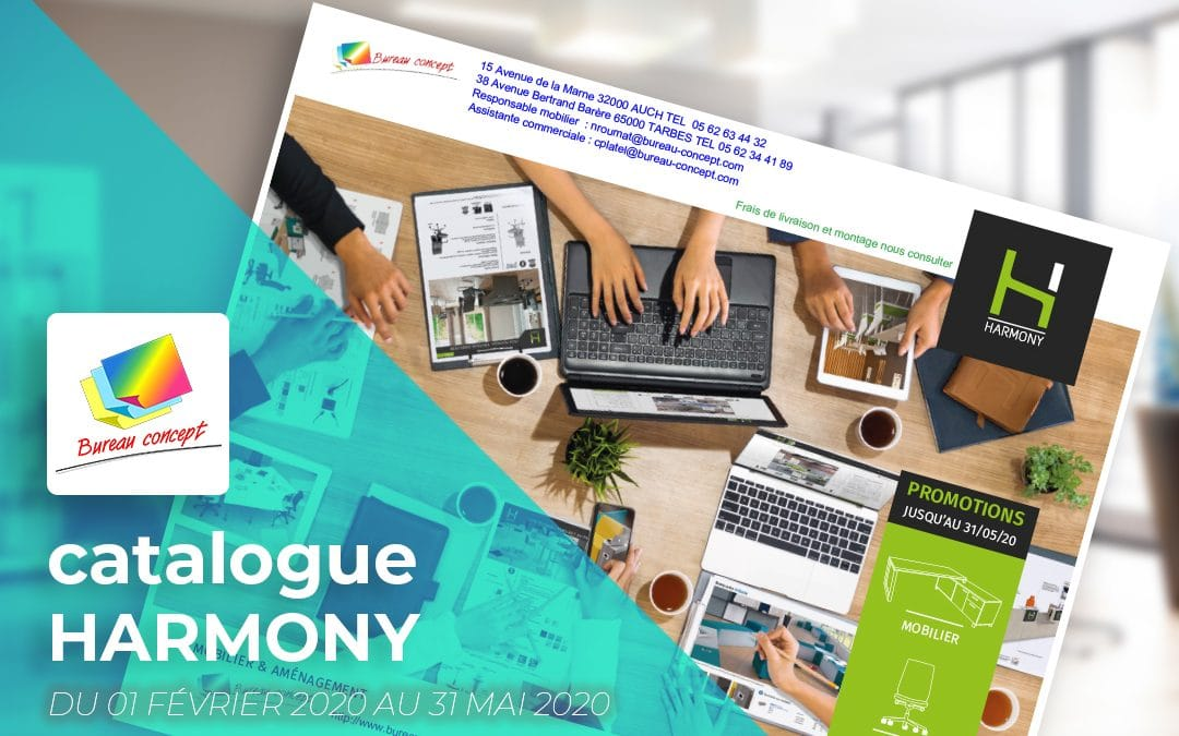Catalogue Bureau Concept - Harmony Printemps