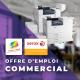 Offre d'emploi - Commercial en CDI