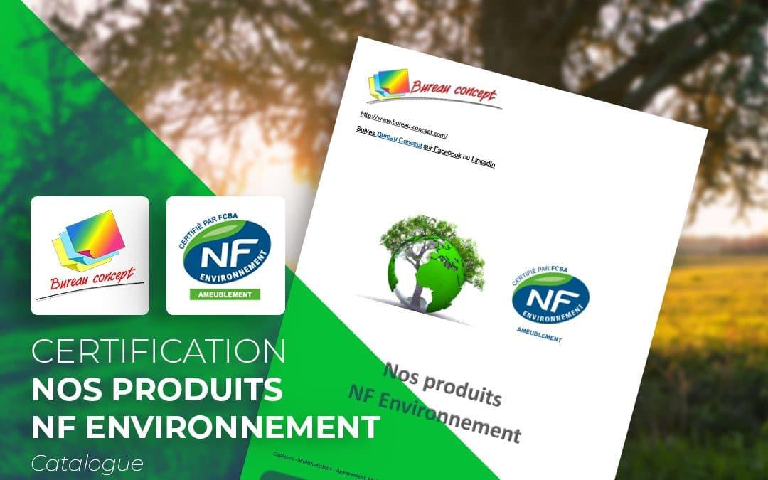 Catalogue NF Environnement